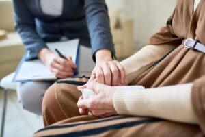 wsparcie, psychoterapia, ręce